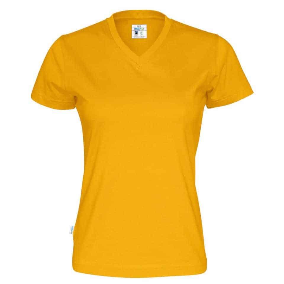 98123117a60 CottoVer 141021 T-shirt V-Neck Lady - Vaneylen