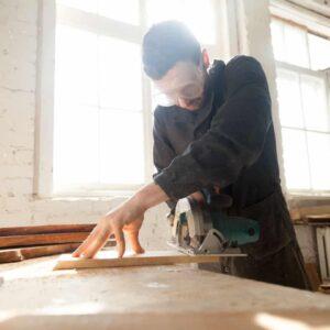Werkkleding voor schrijnwerkers