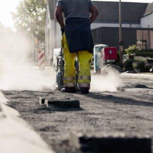 Werkkleding voor wegenwerken